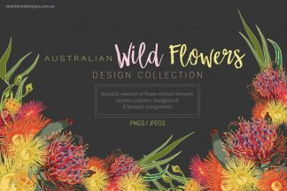 Australian WildFlowers Design Collection