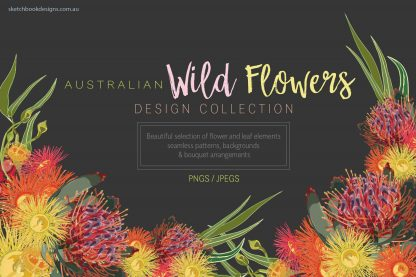 Australian WildFlowers Design Collection