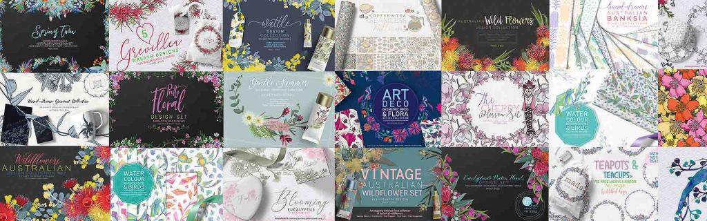 Sketchbook Designs - Clipart
