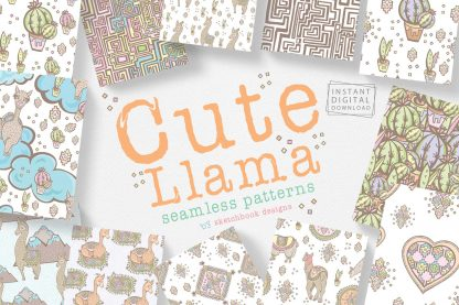 Llama Pattern Set