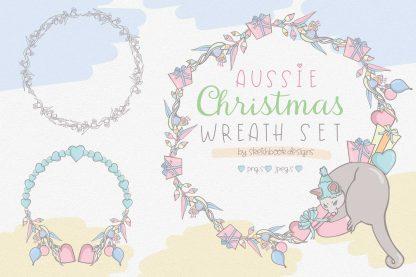 Aussie Wreaths Digital Set