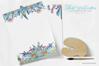 Springtime Watercolour Clipart Set