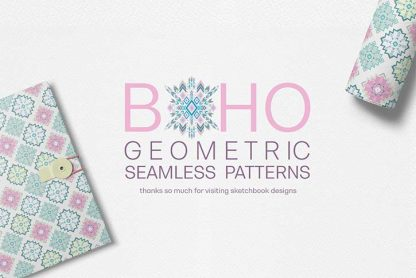 Boho Geometric Patterns