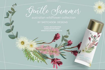 Gentle Summer Clipart Bundle