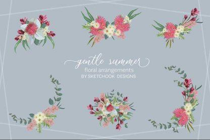 Australian Floral Clipart Arrangements