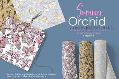 Summer Orchid Patterns