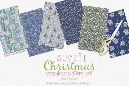 Aussie Christmas Digital Patterns
