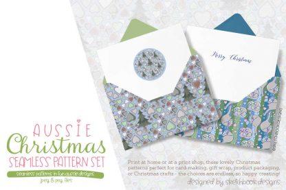 Aussie Digital Patterns Set